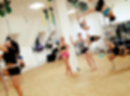 Group Pole Fitness Class