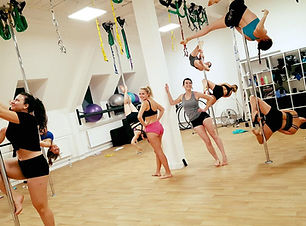 Group Pole Fitness Class