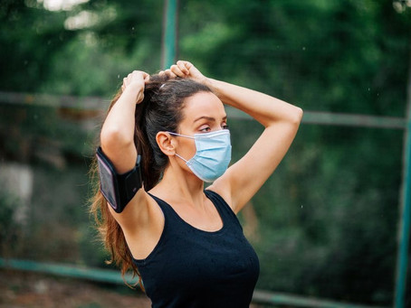 Do not wear a mask while exercising, says WHO