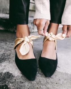 ballet flats Fall 2017 fashion week