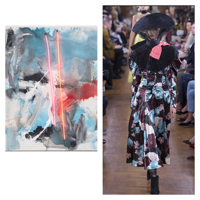 Mary Weatherford meets Erdem