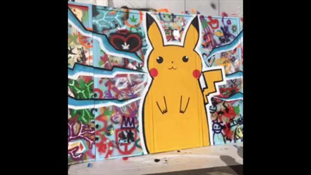 Graffiti cun Taina ils 5 e 6 d'avrel 2019