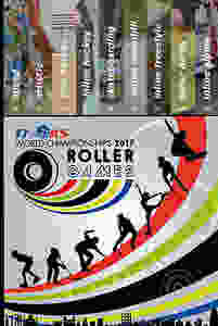 Imagem do Roller Games 2017 demonstrando todas as modalidades participantes do evento