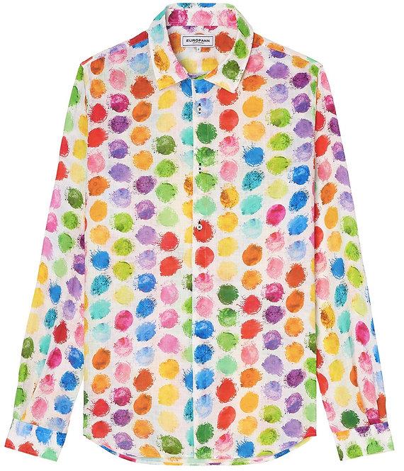 Europann Ball linen shirt