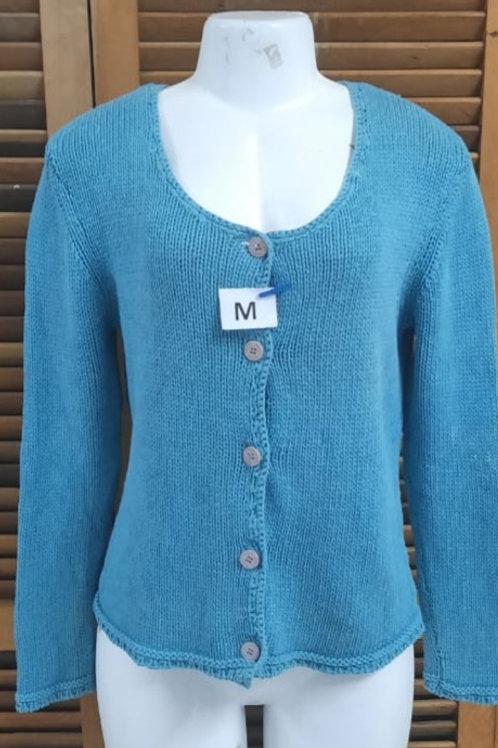 Blusa de lã com botões