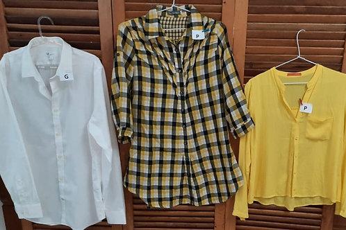 Camisas diversas estampas
