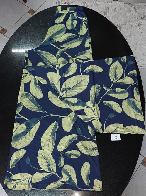 Calça Pantalona florida