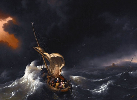 In the middle of the storm, Jesus asks us to trust Him