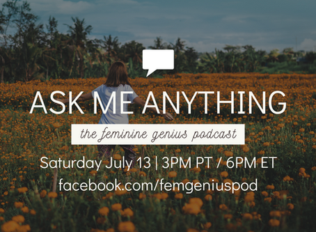 #AskMeAnything - July 13, 2019