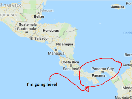 I'm going to Panama!