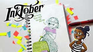Inktober Sketchbook Tour