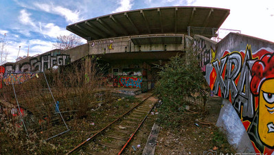 Lost Place -- Geisterbahnhof Olympiapark München