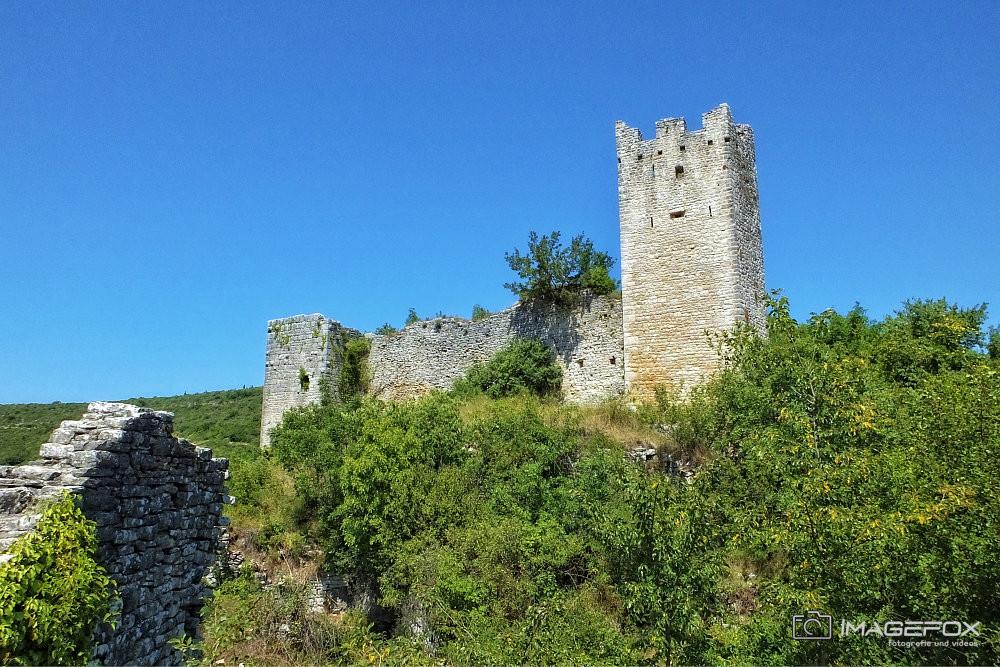 Dvigrad Ruinenstadt Kroatien