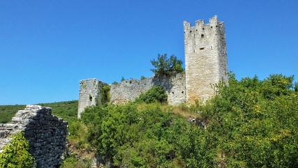 Ruinenstadt Dvigrad Kroatien