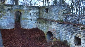 Wandern bei Neuburg - Bunker, Alte Burg und Silbersee