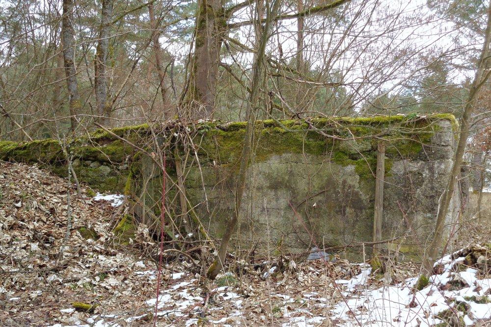 7 Abensberg Lost Place - Mauerreste im Wald