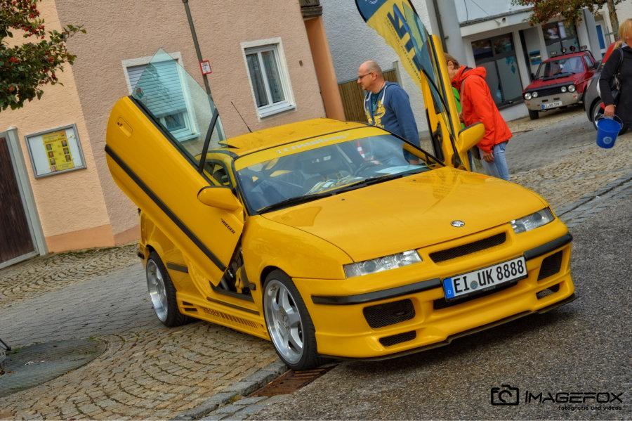 Opel Claibra Gelb