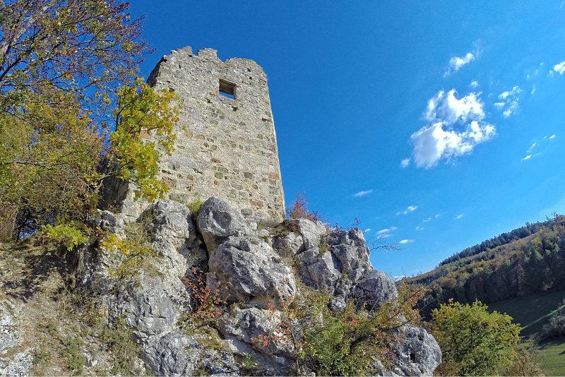 Burgruine Niederhaus 12
