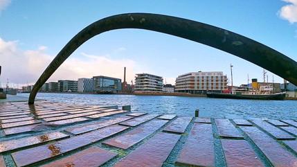 Bremerhaven am Hafen