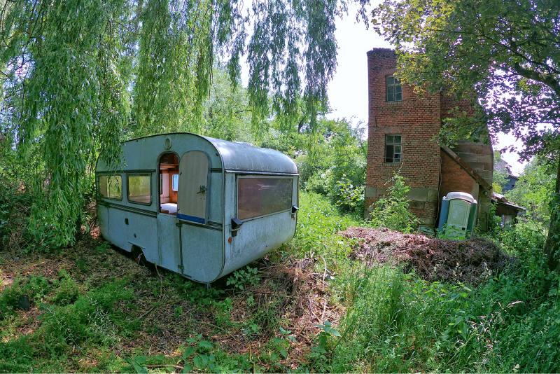 Verlassener Reiterhof bei Ngb 16