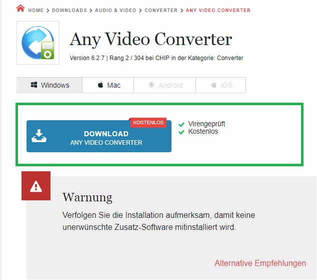 Any Video Converter