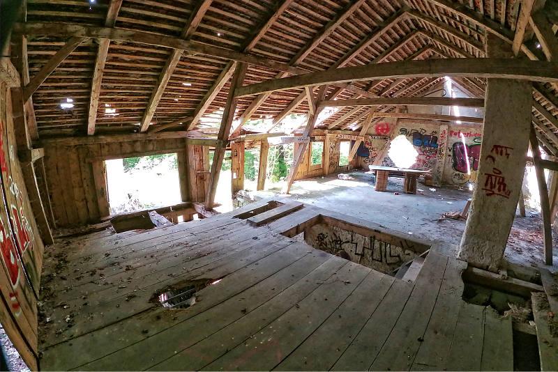 Verlassener Bauernhof Landshut 8