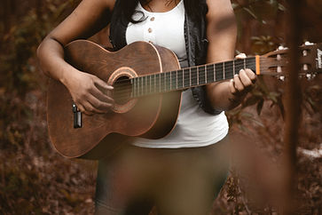 Girl Playing Guitar albumn