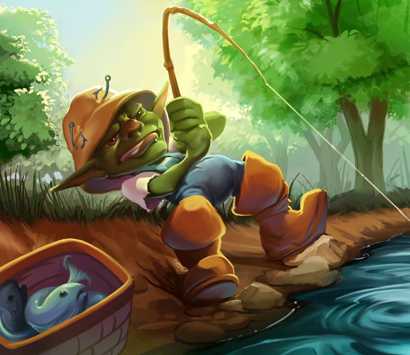 goblin fisherman frtcg set 01 fd 01