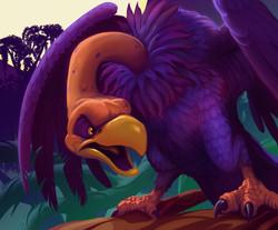 corrupted vulture frtcg set 02 fd 01
