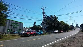 Location in NE Portland