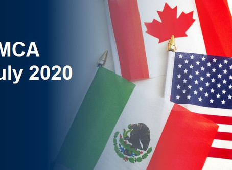 USMCA - Uniform Regulations published for Entry Into force on 1 July 2020