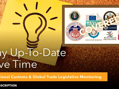 EU concludes FTA with Mexico, while the US tightens restrictions - What's in the PLM this week