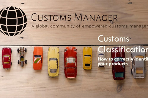 Customs Classification Training