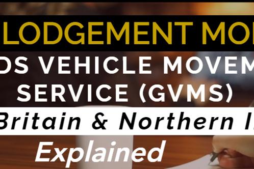 Goods Vehicle Movement Service (GVMS) Training