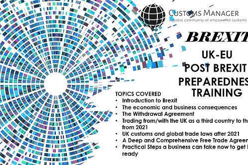 UK-EU Post BrexitPreparedness Training