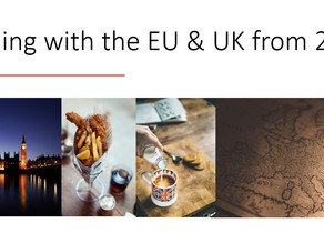 New Brexit Presentation: Trading with the EU & UK from 2021