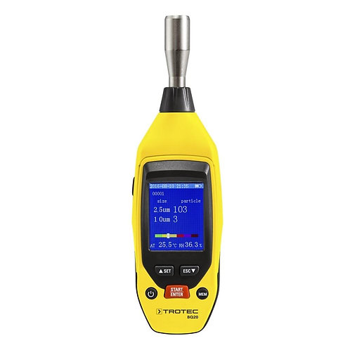 TROTEC BQ20 PARTICLE MEASURING DEVICE