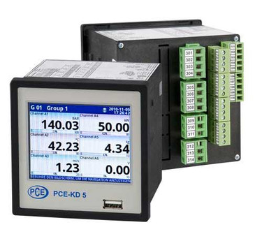 Paperless Recorder PCE-KD5