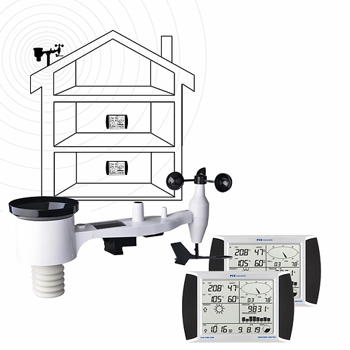 Weather Station PCE-FWS 20N-1