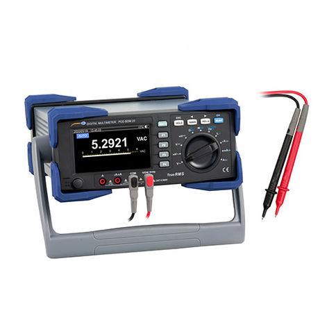 Bench Top Digital Multimeter PCE-BDM 20