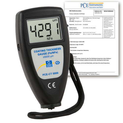 Coating Thickness Gauge PCE-CT 5000