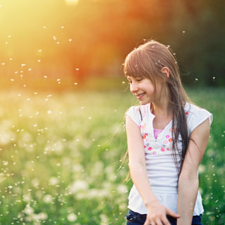Girl in the Fields