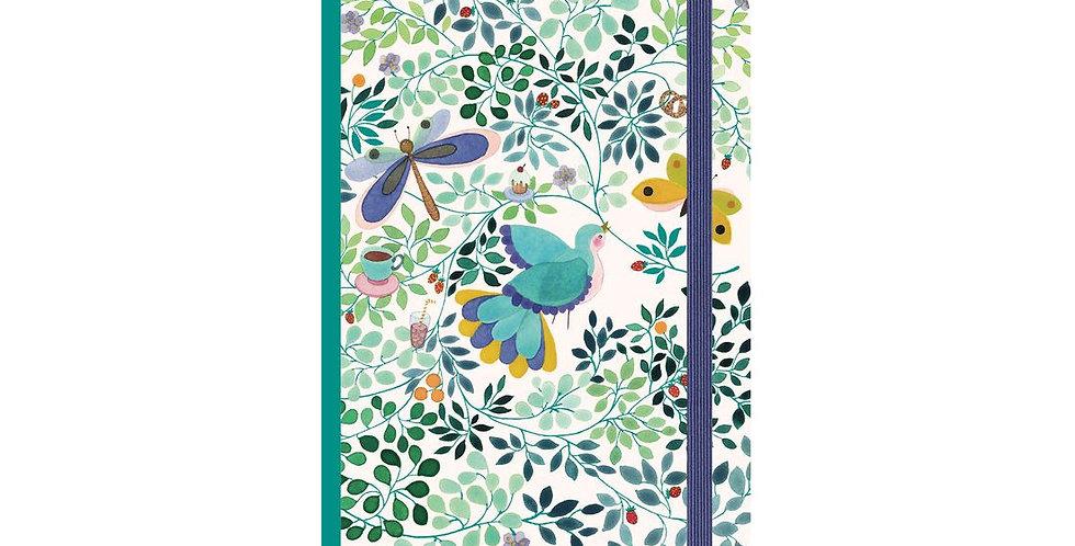 Lovely Paper - Carnet avec elastique Anna Emilia