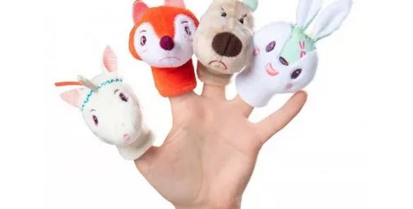 Fôret marionnettes à doigts