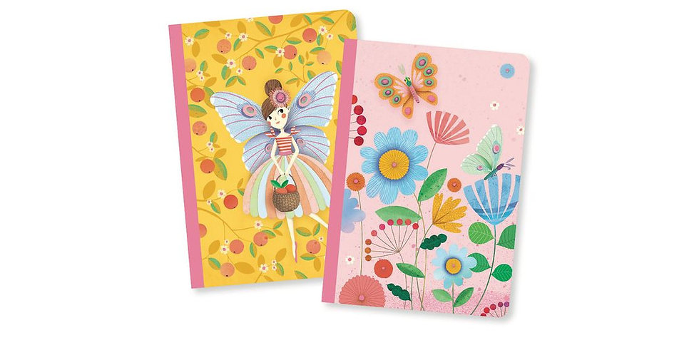 Lovely Paper - Duo petits carnets Rose