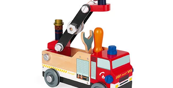 Brico'kids Camion de pompiers