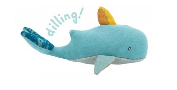 Mini poupée baleine - Le voyage d'Olga