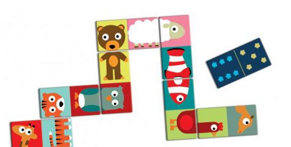 Jeux éducatifs - Domino Animo puzzle
