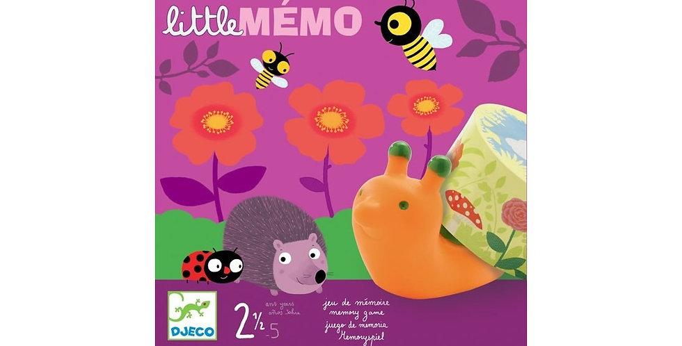 Jeux des tout-petits - Little Memo