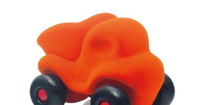 Camion benne orange